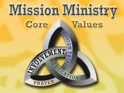 Logo - Missions Ministry: Involvement, Education, Mission Trips, Prayer