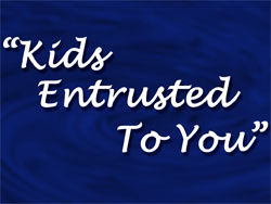 Kids Entrusted To You - Child Dedication Day