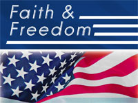Logo - Faith and Freedom