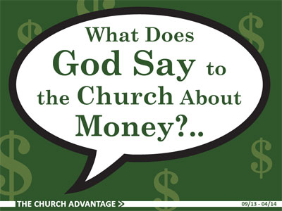What Does God Say to the Church About Money?...