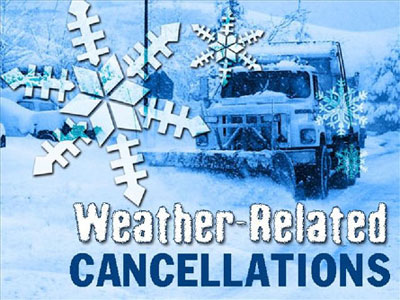 Weather-Related Cancellations