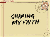 Sharing My Faith