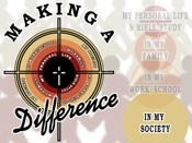 Making a Difference... In My Society