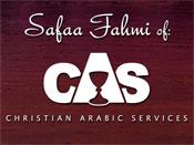 Logo - Safaa Fahmi of Christian Arabic Services