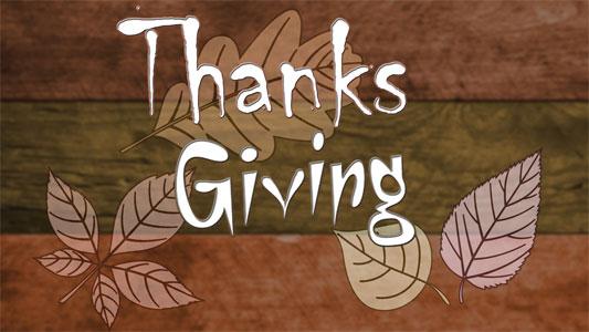 Logo - Thanks Giving